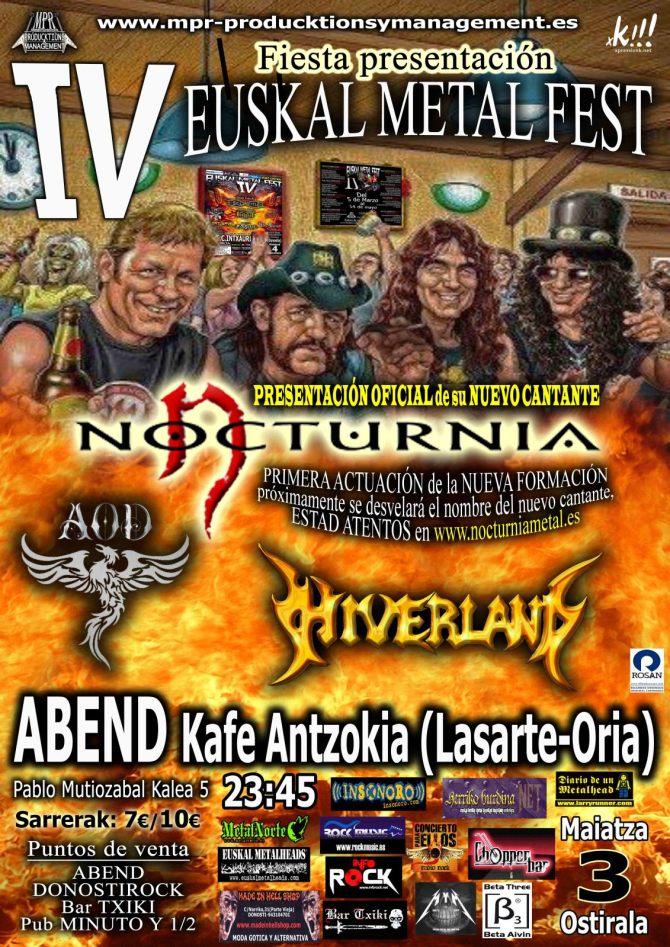 euskal herria metal fest aurkezpena