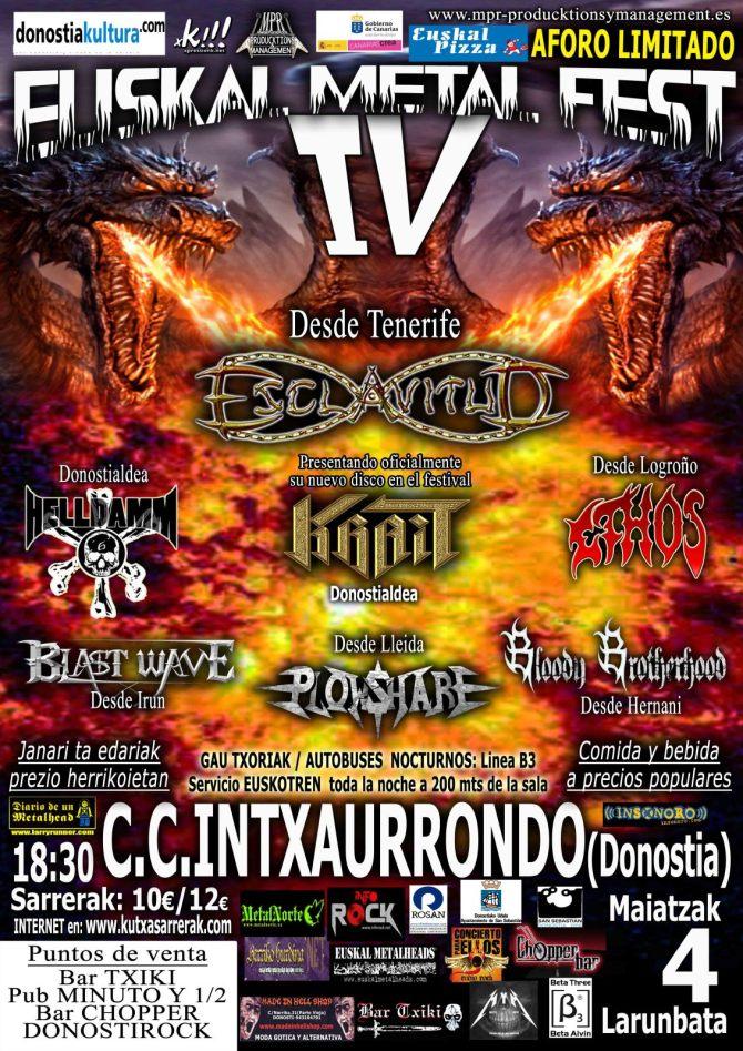 euskal herria metal fest